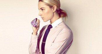 Красивый женский галстук