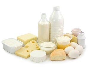 Молочные продукты при язве желудка