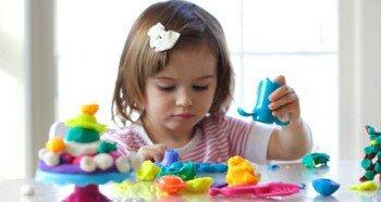 Лепка - занимательное и развивающее занятие для детей