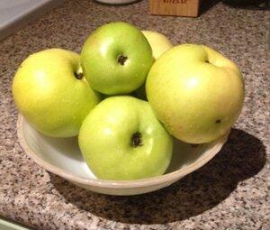 Яблоки для приготовления штруделя