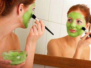 Отбеливающая маска из петрушки для лица