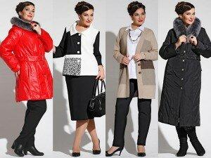 Пальто для дам бальзаковского возраста