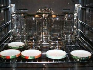 Стерилизация банок для консервирования гороха