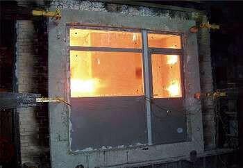 Пламя за окном