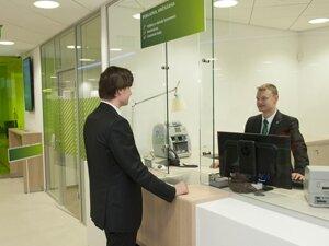 Пополнение счета через отделение банка