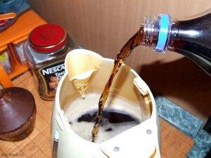 Очищение накипи Кока-Колой