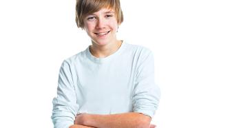 Модная стрижка для подростка
