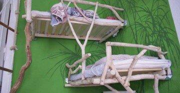 Оригинальная двухярусная кровать