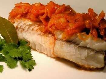 Рыба под маринадом с петрушкой