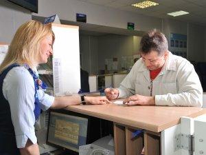 Консультация с сотрудниками почты для определения индекса