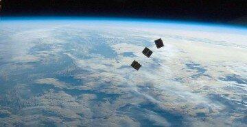 Спутники над землей