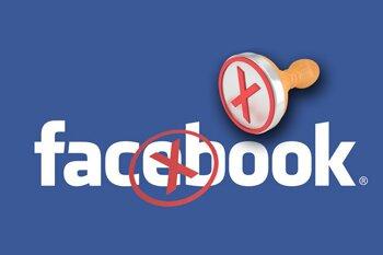 Удаление страницы в Facebook