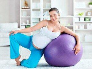 Легкие гимнастические упражнения при беременности