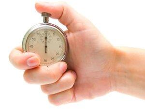 Зависимость расхода калорий от времени бега