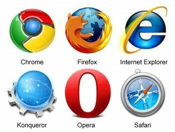 Виды популярных веб-браузеров