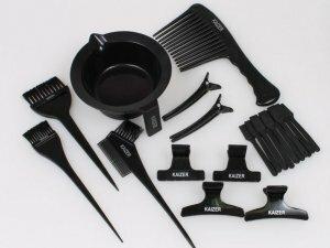 Подготовка инструментов для окрашивания волос