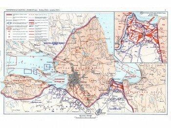Карта блокады