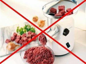 Нежелательность измельчения мяса в мясорубке