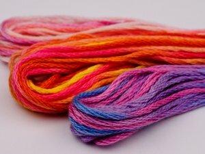 Использование мулине для плетения браслетов