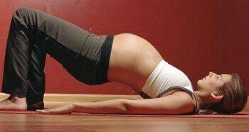 Пресс при беременности