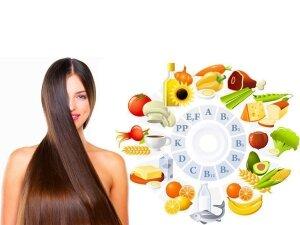 Прием витаминов для волос