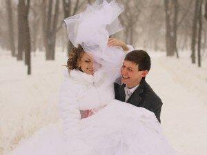 Зимние месяцы для свадьбы