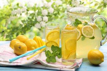 Самодельный лимонад