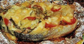 Вкусная рыба в фольге