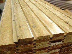 Подготовка деревянного сайдинга