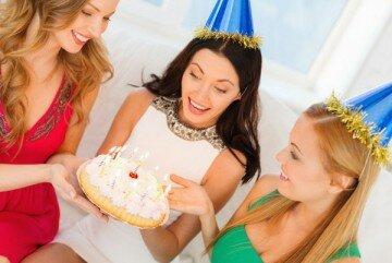 День рождения подруги