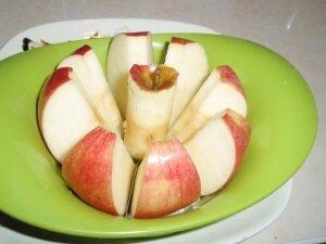 Маринование яблок дольками