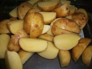 Молодой картофель для приготовления рецепта