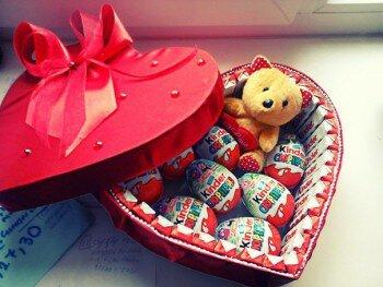 Сладкие подарки на день рождения