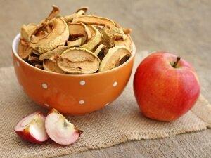 Сушеные яблоки для приготовления рецепта