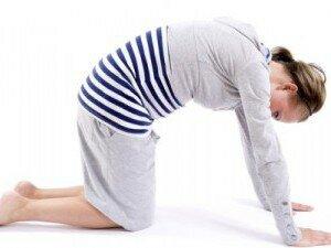 Упражнение для расслабления мышц матки