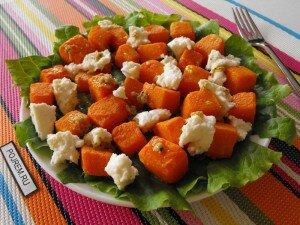 Салат из тыквы и сыра