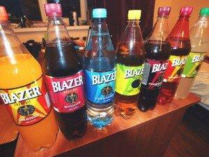 Разнообразие вкусов напитков Блейзер
